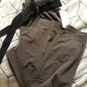 Athlete paper bag pants